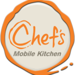 mobile kitchen button logo